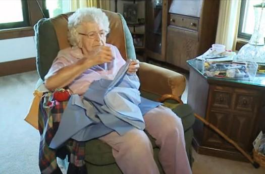 O bătrânică ne oferă o fantastică lecţie de viaţă - Comentarii: 0