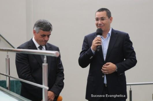 Victor Ponta s-a sfătuit cu pastorii evanghelici din Suceava, la Biserica Penticostală Dumbrăveni - Comentarii: 14