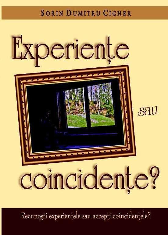 RECOMANDARE: Experienţe sau coincidenţe? - Comentarii: 1