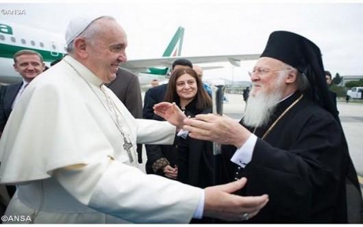 Gesturi nemaivăzute ale Papei Francisc şi ale Patriarhului Bartolomeu - Comentarii: 2