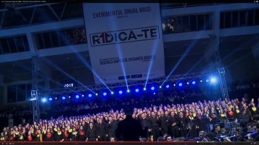 Corul si Orchestra Nationala BBSO 2014 – Sfant Esti, Doamne [OFFICIAL VIDEO] - Comentarii: 1