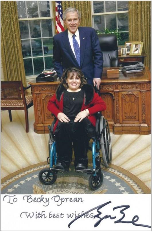 Moartea unei eroine. Minunata poveste de viaţă a româncei care l-a impresionat pe preşedintele Americii, din scaunul cu rotile - Comentarii: 0