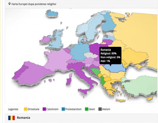 Liderii atei ai Europei si tarile in care credinciosii au devenit o minoritate. Ce rol mai joaca religia in 2015 - Comentarii: 1