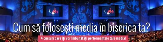 Media Challenge – Cum să foloseşti media în biserica ta? - Comentarii: 0