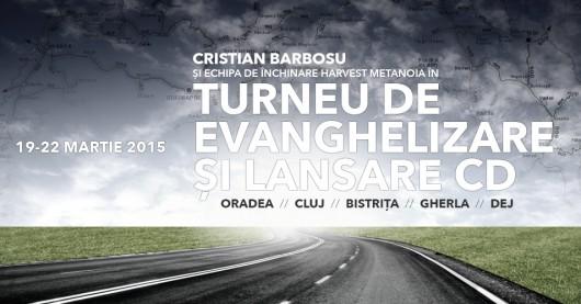 Cristian Barbosu – Turneu de evanghelizare - Comentarii: 0