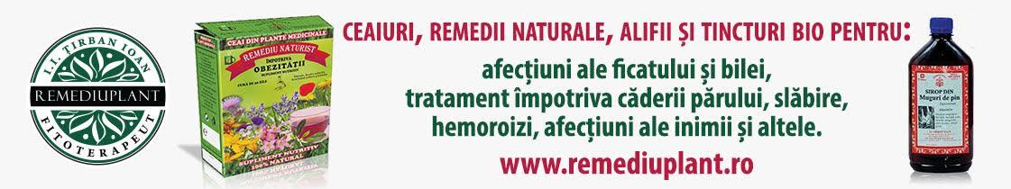 Ceaiuri, Remedii naturale - remediuplant.ro